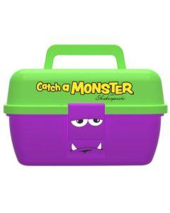 "Shakespear ""catch a monster"" play box Grejæske - Grøn/Lilla"