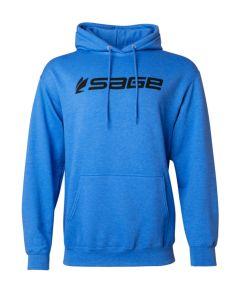 Sage Logo Hoodie - Heather Blue