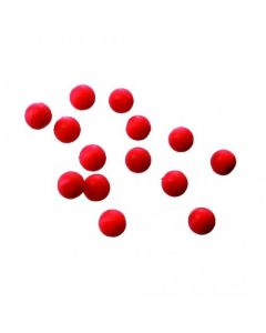 Ground Contact Artificial Boilie - Bright Red - 10mm - 10 stk.