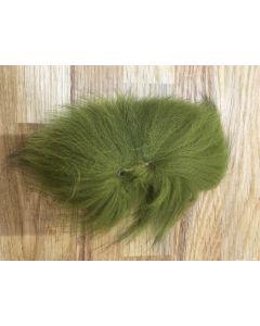 Arcticfox Tail- Ræve hale - Olive