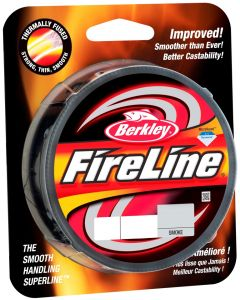 Berkley Fireline Fused Fletline - Smoke - 110m