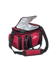 Berkley System Bag L - Fisketaske m. 4 grejæsker - Sort/Rød