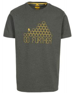 Trespass Buzzinley Quick Dry T-shirt - Olive Marl
