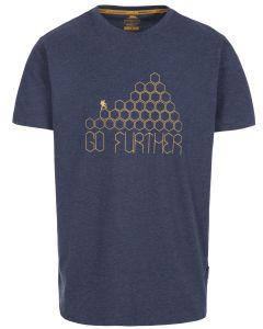 Trespass Buzzinley Quick Dry T-shirt - Navy Blue