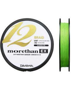 Daiwa Morethan 12 Braid - Fletline - Chartreuse