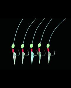 Dega Sildforfang - #4 - Transperant -/Rød hoved