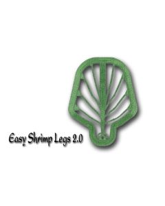 Easy Shrimp Legs 2.0 - 6 stk - Medium - Transparent Dirty Green