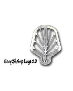 Easy Shrimp Legs 2.0 - 6 stk - Medium Super Fluo Transparent