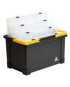 Fatbox Grejkasse med 4 kasser