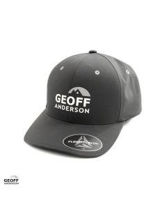 Geoff Anderson Flexfit Delta Cap - Grey