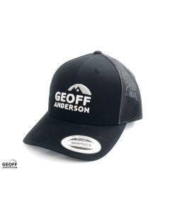 Geoff Anderson Snapback Trucker Cap - Black