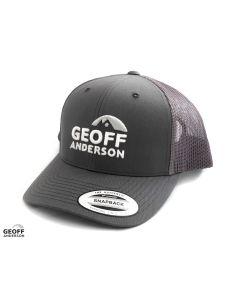 Geoff Anderson Snapback Cap - Grey