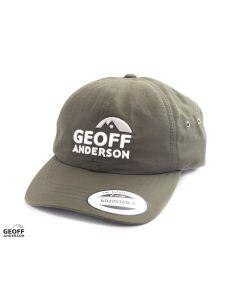 Geoff Anderson Flexfit Water Resistant Cap - Green