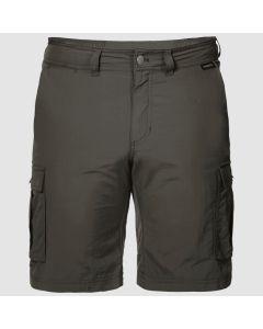 Jack Wolfskin Canyon Cargo Shorts - Dark Moss