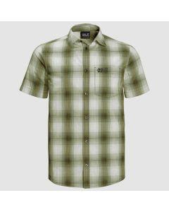 Jack Wolfskin Hot Chili Shirt - Dark Moss Checks