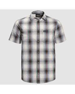 Jack Wolfskin Hot Chili Shirt - Dusty Grey Checks