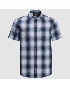 Jack Wolfskin Hot Chili Shirt - Night Blue Checks