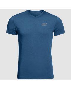 Jack Wolfskin JWP T-shirt - Pack&Go - Indigo Blue