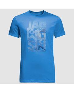 Jack Wolfskin Atlantic Ocean T-shirt - Wave Blue