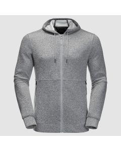 Jack Wolfskin Finley Hooded Jacket M - Slate Grey