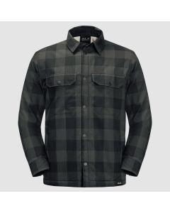 Jack Wolfskin Whiteville Skjorte - Bonsai Green Checks