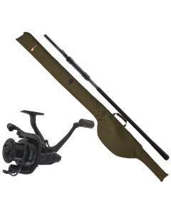 JRC Cocoon 2G Combo - Stang, hjul og taske til Karpe/stør