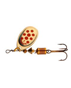 Mepps Aglia spinner - Gold/Red
