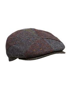 MJM Daffy-5 Patchwork 100% Wool - Grey/Blue