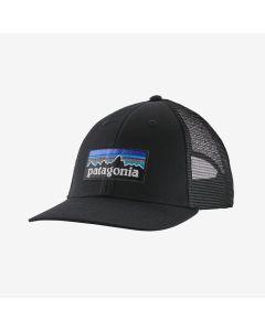 Patagonia P-6 Logo LoPro Trucker Cap - Black
