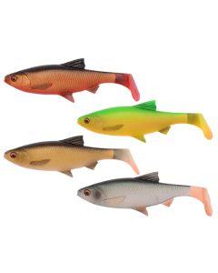 Savage Gear 3D River Roach Paddle Tail - 2 stk kit