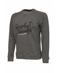 "Savage Gear ""Simply Savage"" Sweater - Melange Grey"