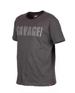 Savage Gear Simply Savage T-Shirt - Grå