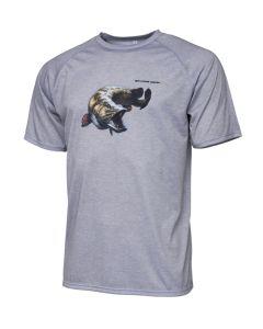 Savage Gear Pike Tee - T-shirt Grå