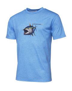 Savage Gear Pike Tee - T-shirt Blue Melange