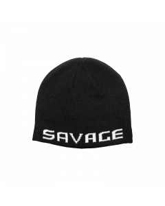 Savage Gear Logo Beanie - Black/White