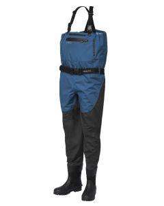 Scierra Helmsdale 20.000 - Åndbare waders m. fast støvle - Gummi eller filt - Grey/Blue