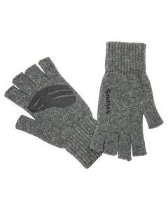 Simms Wool - Half finger - Uld Handsker