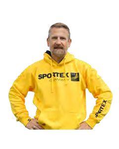 Sportex Hættetrøje - Gul