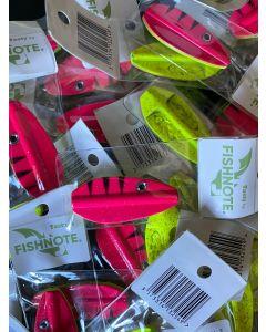 Fishnote Tasty 8g - Pink/Gul