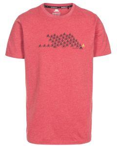 Trespass Borlie Quick Dry T-shirt - Rød