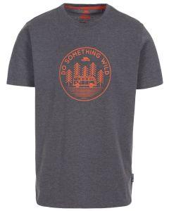 Trespass Bothesford Quick Dry T-shirt - Dark Grey