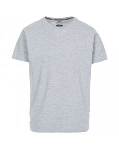 Trespass Plaintee Quick Dry Casual T-shirt - Grey Marl