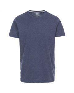 Trespass Plaintee Quick Dry Casual T-shirt - Navy Marl