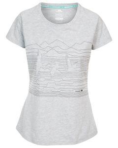 Trespass Dunebug - T-shirt til Kvinder - Grey Marl