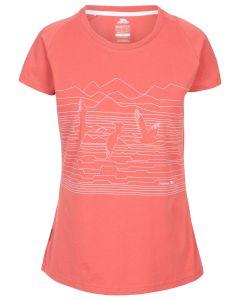 Trespass Dunebug - T-shirt til Kvinder - Rhubarb