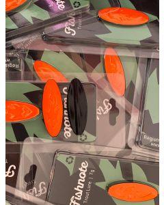 Fishnote Trout Lure 7g - Sort-Orange