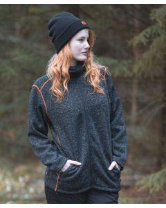 VikinX Troels - Fleece Sweater - Black Melange