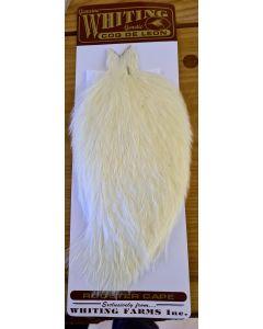 Whiting Coq De Leon Cape - White