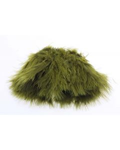 The Fly Co Wolly Bugger Marabou Fjer - Oliven
