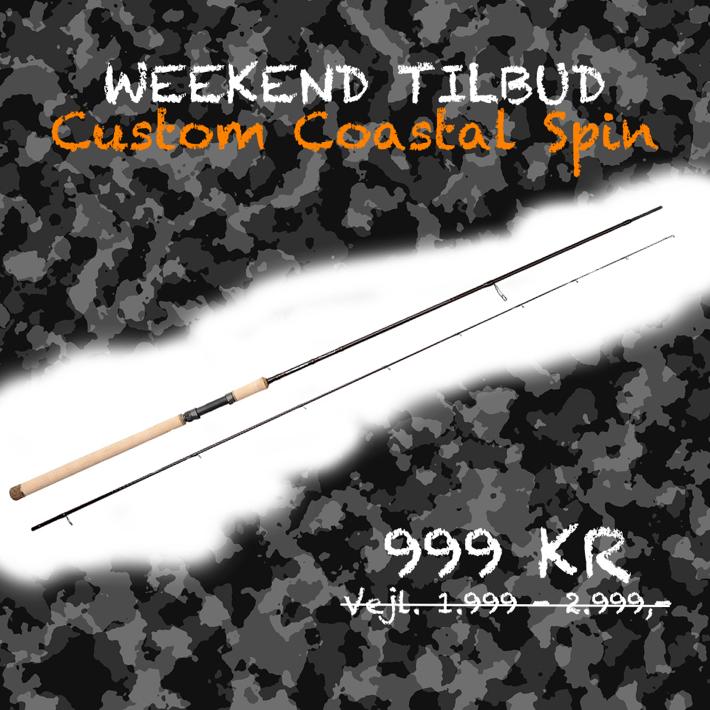 Savage Gear Custom Coastal Spin - WEEKEND TILBUD